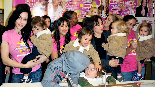 Nadya Suleman — How many children is too many?